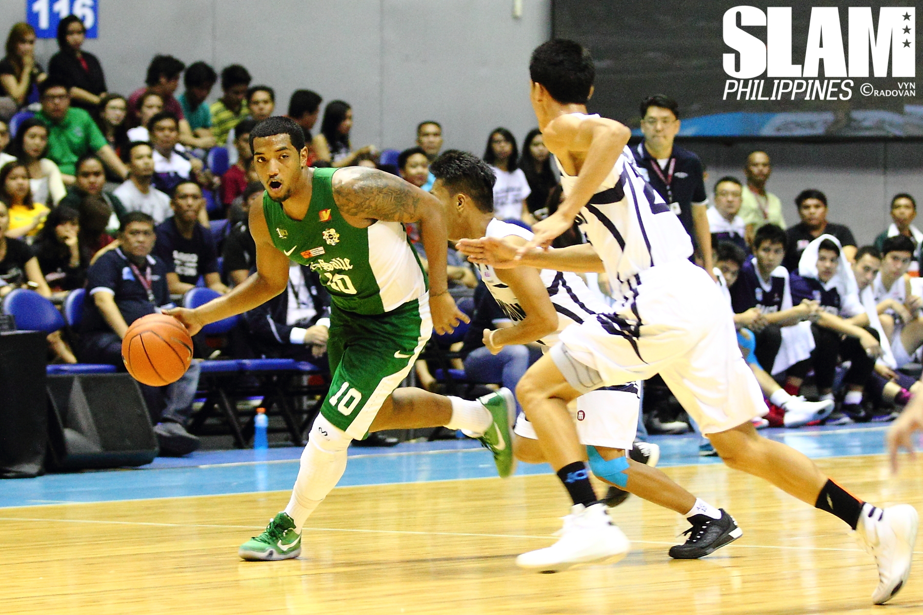 UAAP - DLSU vs ADU - September 20, 2015 - 2