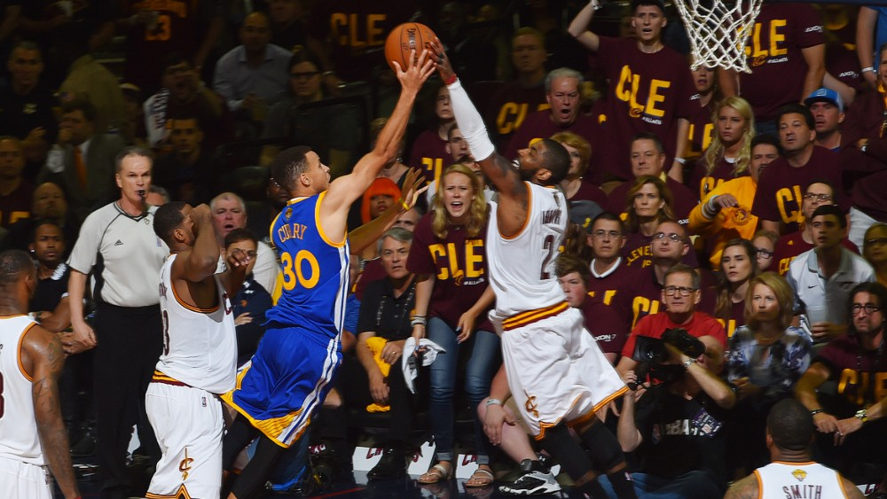 Warriors go up 3-1 in the 2016 NBA Finals, as second-half effort shoots down Cavaliers ...