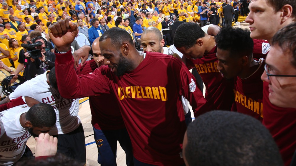 buy popular 3c80e 4d4d8 BELIEVELAND: Cavaliers rally from down 3-1, win first NBA ...