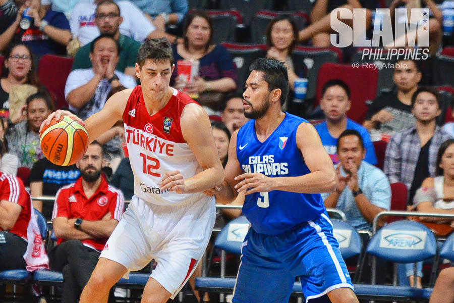Gilas Pilipinas vs Turkey Tuneup pic 8 by Roy Afable