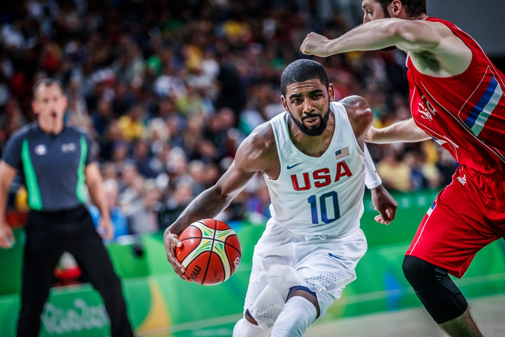 f8aa3ca4401a Kyrie Irving - USA - Olympics. When Team USA defeated Serbia in the 2014 FIBA  World Cup ...
