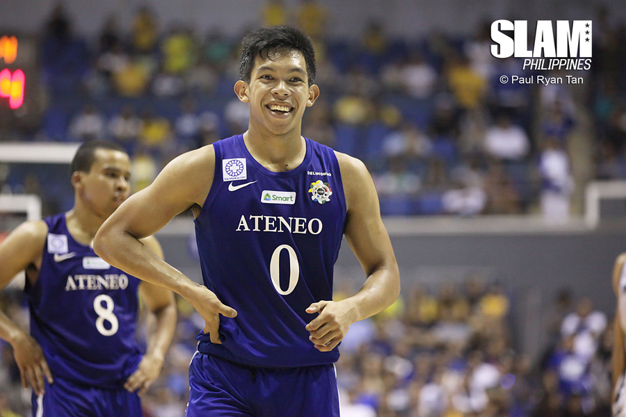 big sale 4da41 8dca5 Three D's propel Ateneo Blue Eagles to opening day win over ...