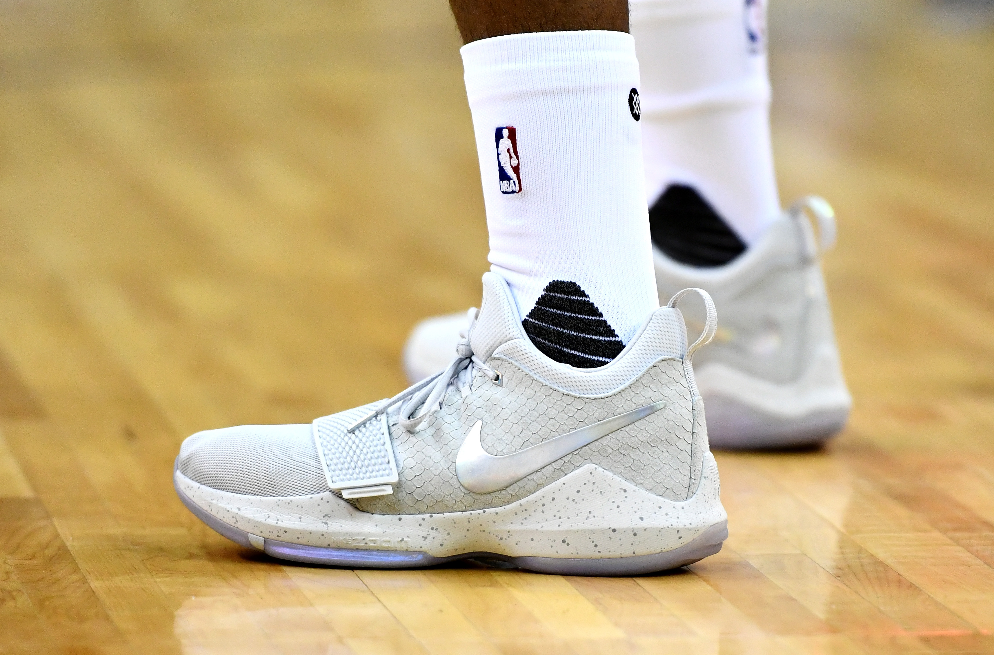 sneakers for cheap d2d6b db8e4 LOOK: Check out the tech sheet of the PG1, Paul George's ...