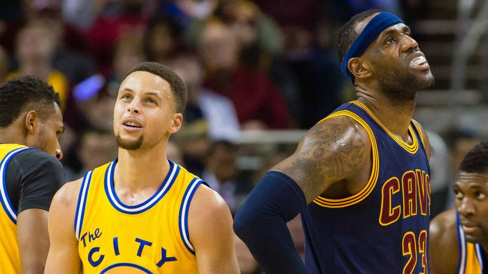 LeBron James - Stephen Curry