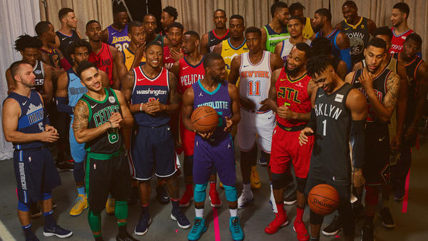 3a1335fef25 LOOK: All 30 Nike Statement Jerseys unveiled in the #NIKExNBA event ...