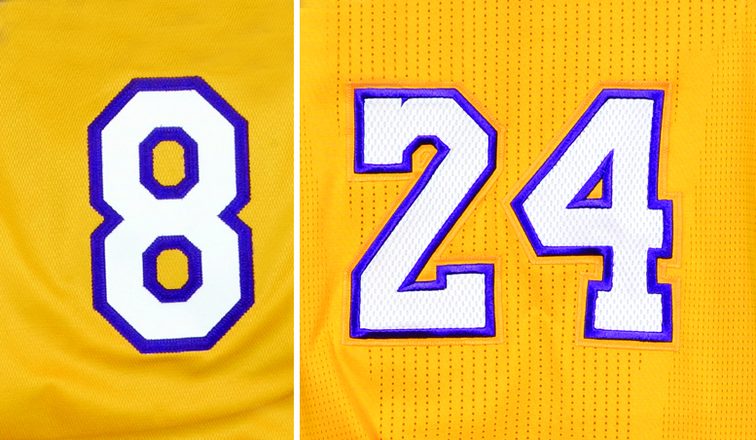 ee05a9906865 Ramona Shelburne killed that debate when she reported on Twitter that both  number 8 and number 24 will be retired by the Lakers.