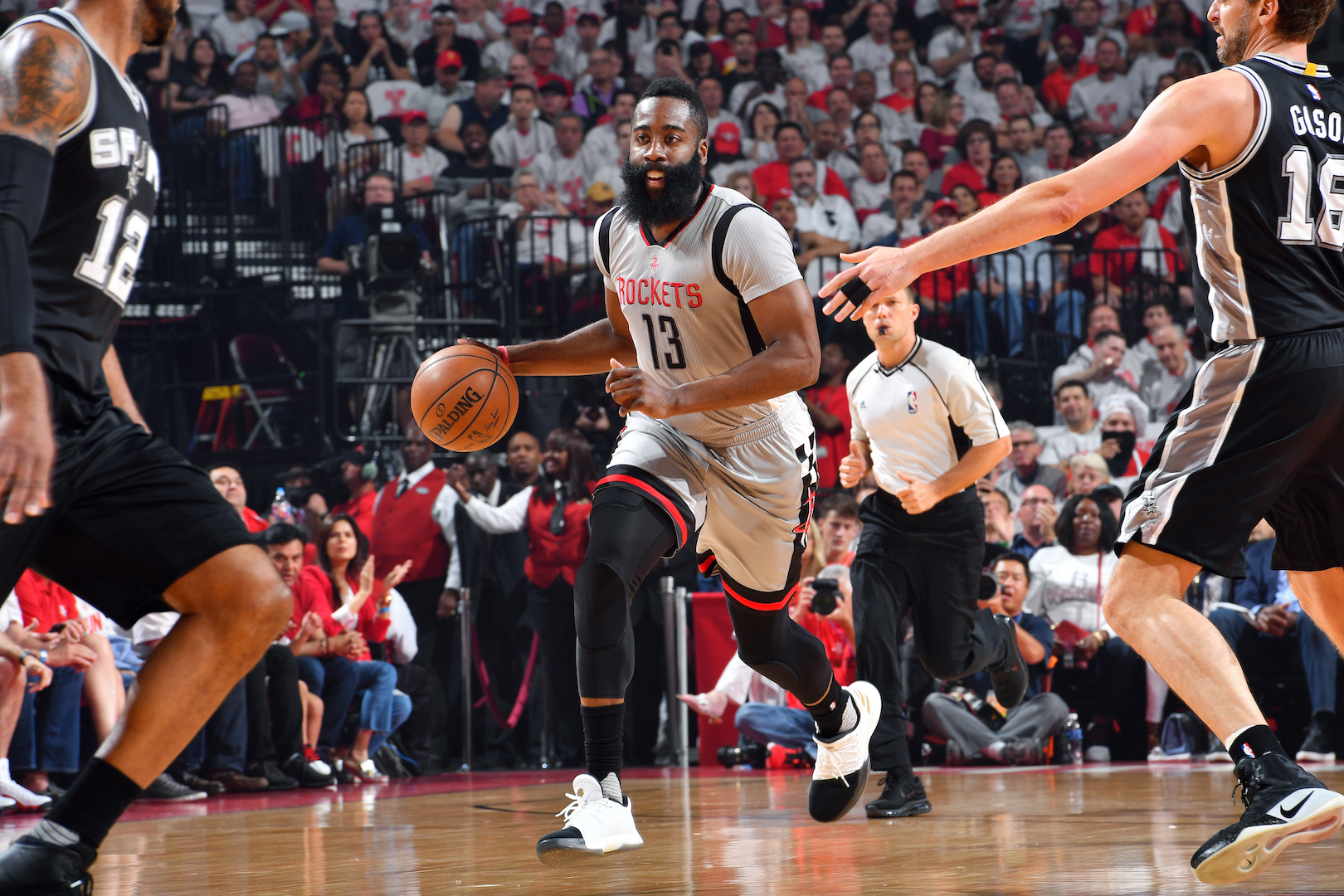 San Antonio Spurs v Houston Rockets - Game Four