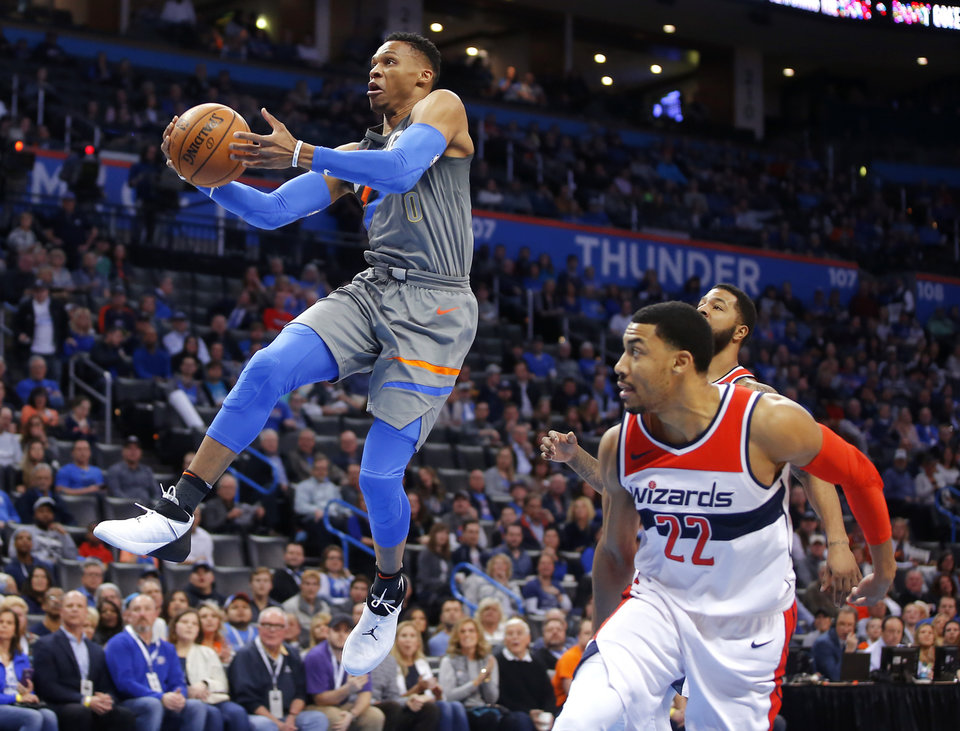 nba daily dribble westbrook dropped 46 after thinking he