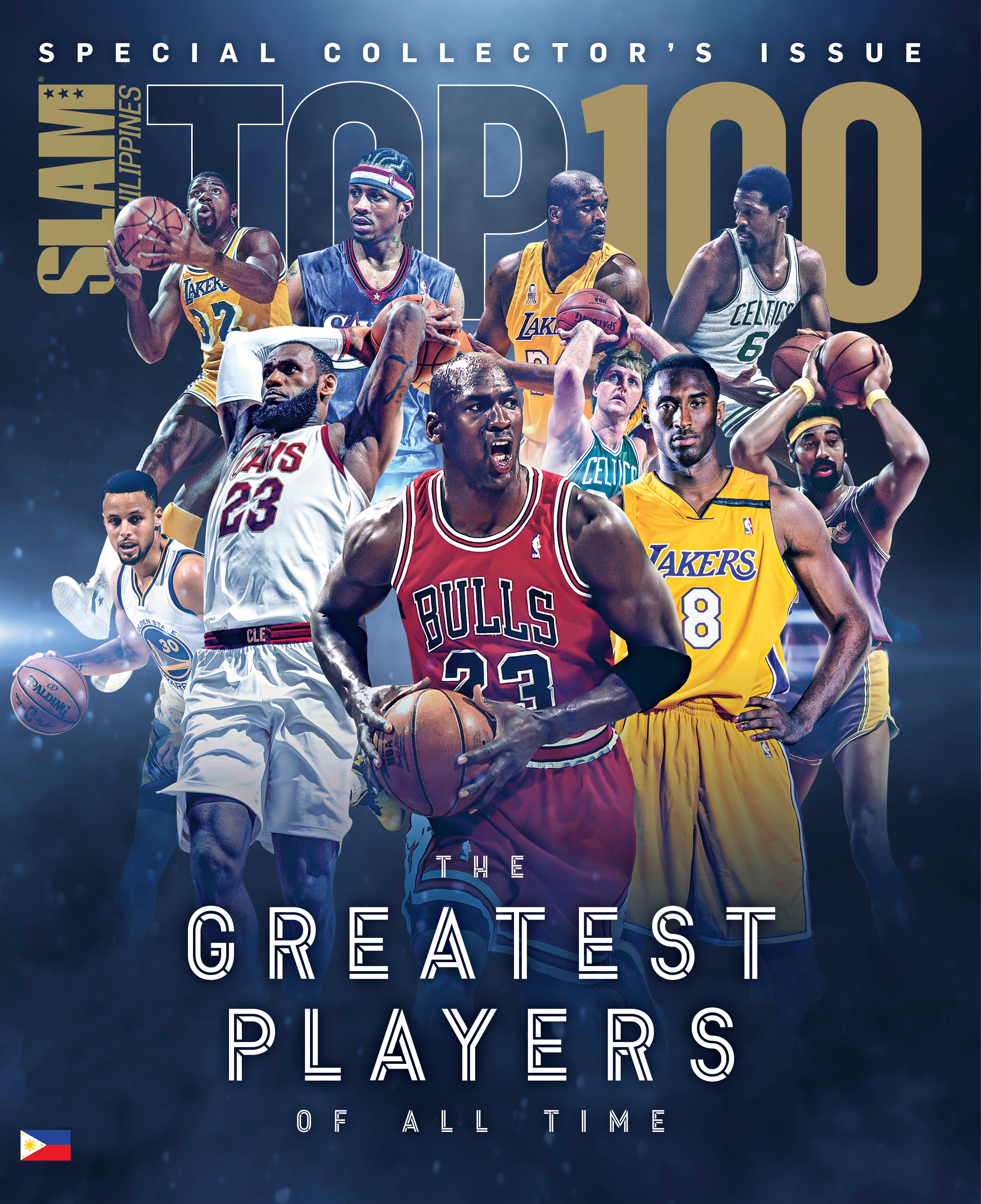 #SLAMTop100 Greatest Of All Time Out Now!