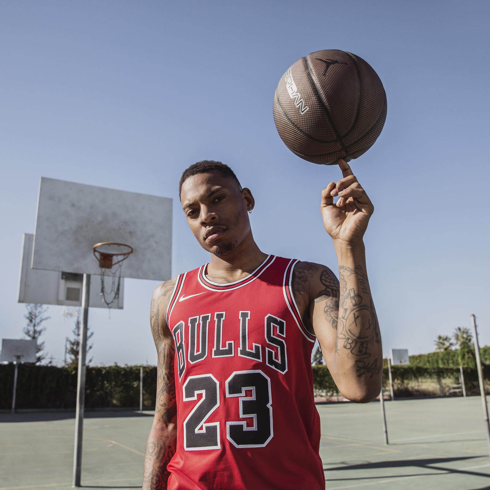 huge discount e9063 b2258 The jersey, which releases May 31, comes in three versions  an Authentic  away (as worn for the last shot) as well as Swingman versions of the Bulls   home ...