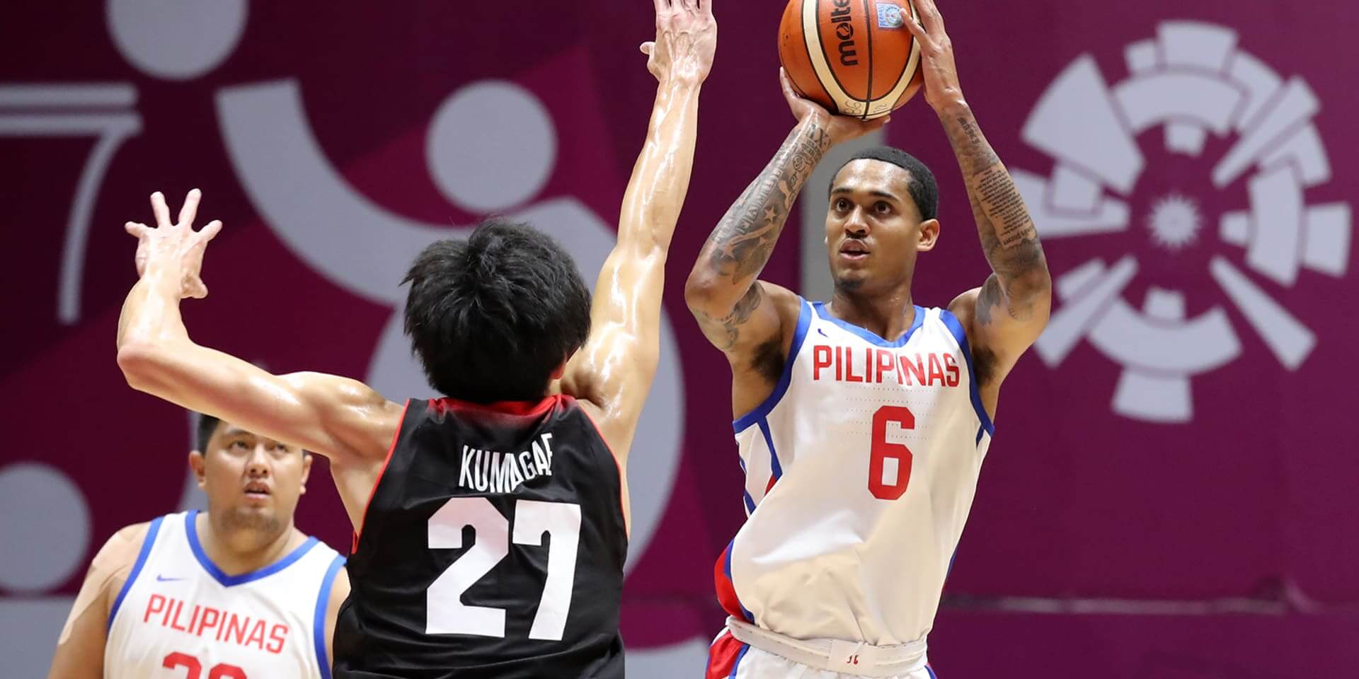 20c61f4a603 The Philippines continued to drop buckets in the third quarter. They didn't  need a Clarkson explosion this time around as it was a total team effort.