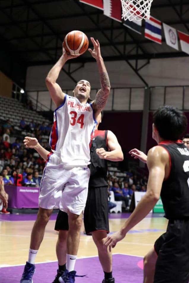 458d5914c8a Standhardinger continues to impress in the Asian Games. He led the Philippines  with a monster double-double of 27 points and 13 rebounds.