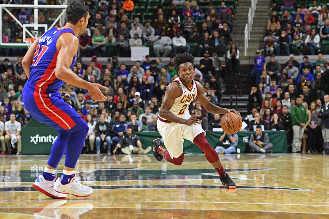 quality design 54169 eb6eb GET HYPED: Collin Sexton can be Cleveland's new Kyrie Irving ...