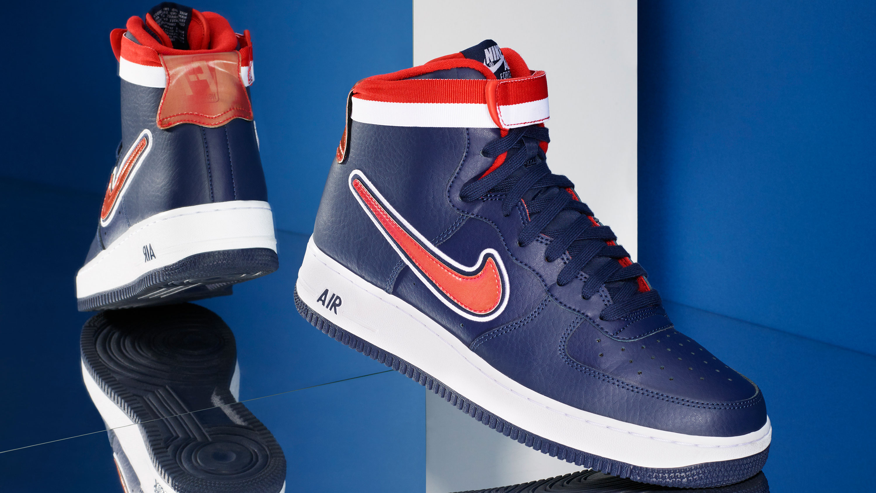 a409dd73e8 When it comes down to it, the Air Force 1 and the NBA are inseparable.  That's why this year, Nike decided to release the AF-1 'NBA Pack'.