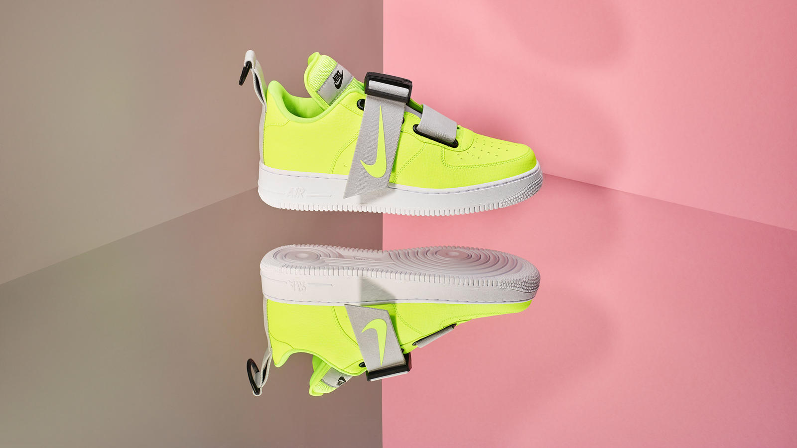 huge discount 17d4a 29bb2 Aside from switching up the fabrics, AF-1 crossovers also allow for  aesthetically bold moves. Later this year Nike is releasing the Air Force 1   Utility .