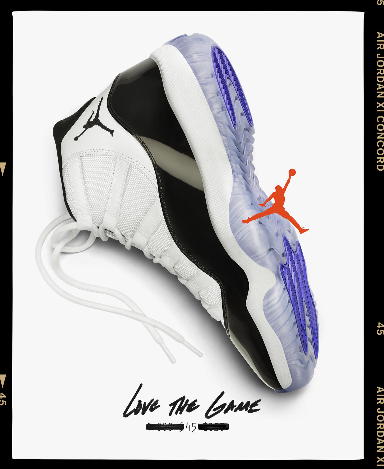 timeless design fb9de e464b The Story of the Grail: The Air Jordan XI Concord ...