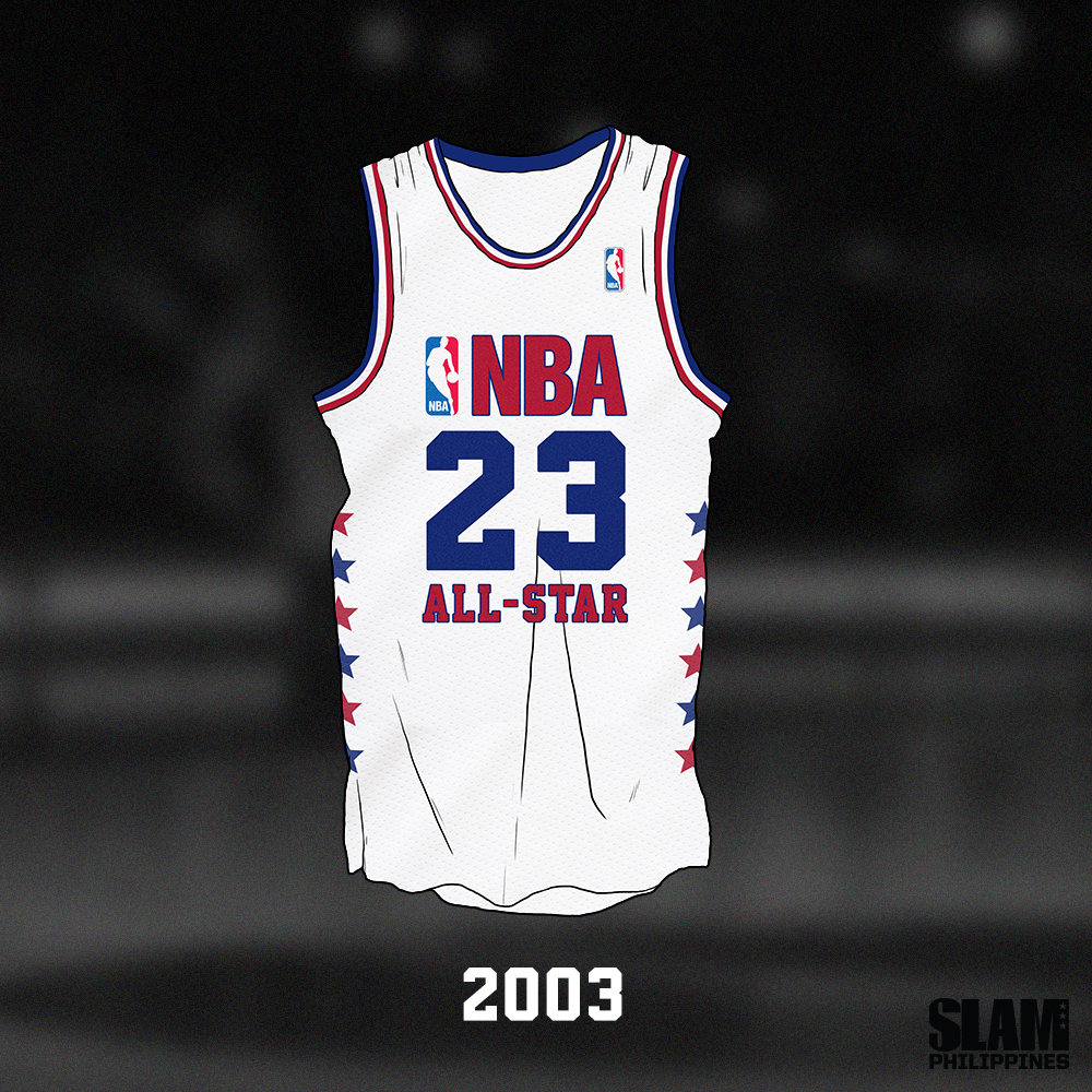 Looking Back At Iconic All Star Game Jerseys Slamonline Philippines