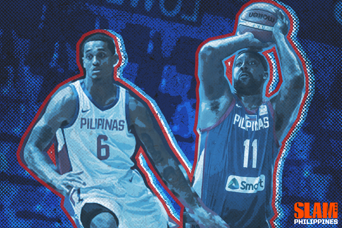 sports shoes b3847 995f5 Clarkson or Blatche? Who should Gilas run with in the World ...