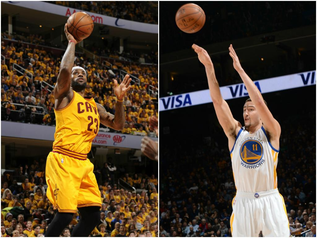 Resurgent LeBron James, hot-shooting Klay Thompson are the NBA Players of the Week - SLAMonline ...