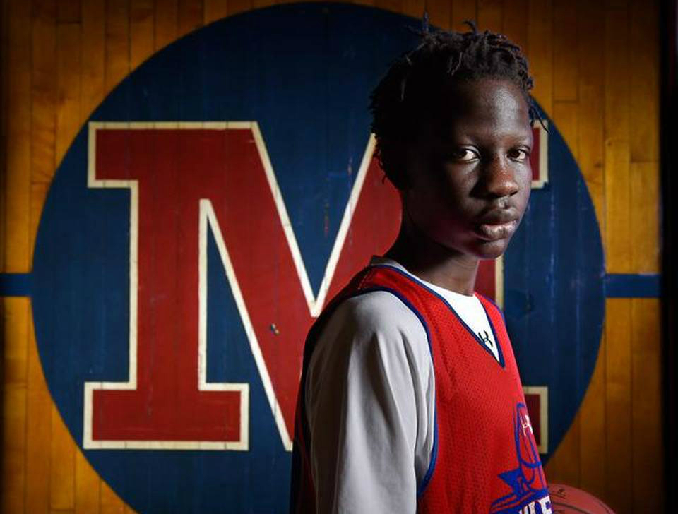 LOOK: Manute Bol's son is quickly becoming an intriguing ...