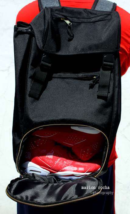 4b34f03eff The independent front facing sneaker compartment is the clincher in all of  this