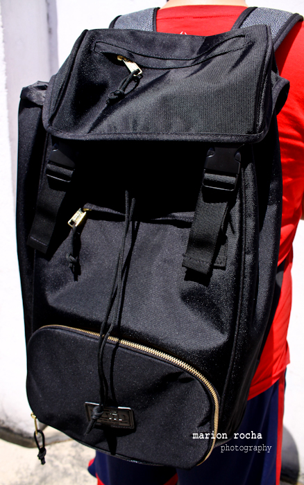 f5b4df2ea61520 Distinct features of the backpack include a versatile front-loading  compartment with separate zipper closure allowing for maximum protection  for your valued ...