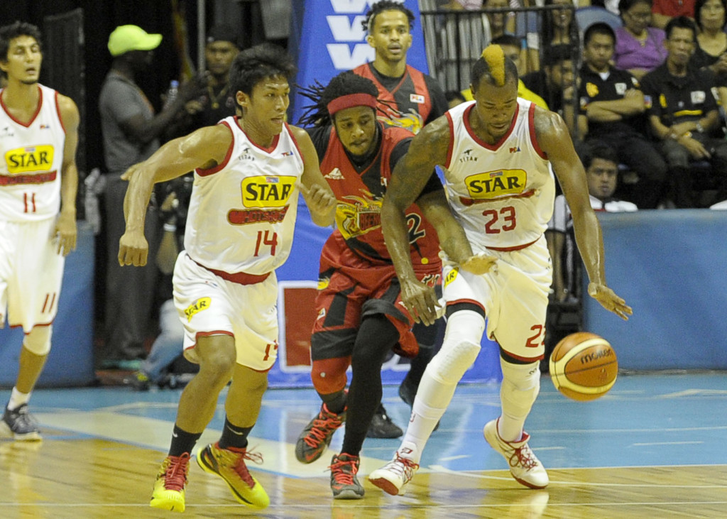 PBA - San Miguel Beer vs Purefoods Star - May 24, 2015 - 1